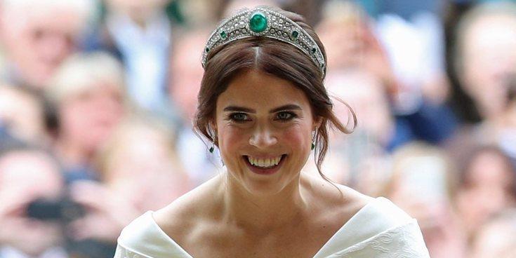 Así fue el segundo vestido de novia de la Princesa Eugenia de York en su boda con Jack Brooksbank