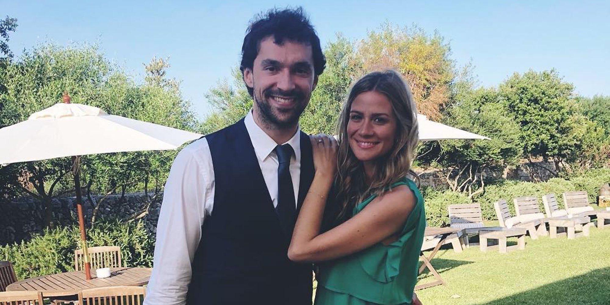 Sergio Llull y Almudena Cánovas se convierten en padres de su primera hija