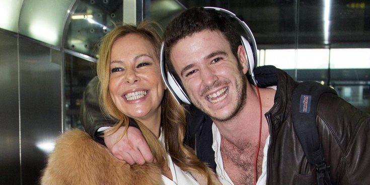 La misteriosa escapada de Ana Obregón y su hijo Álex Lequio
