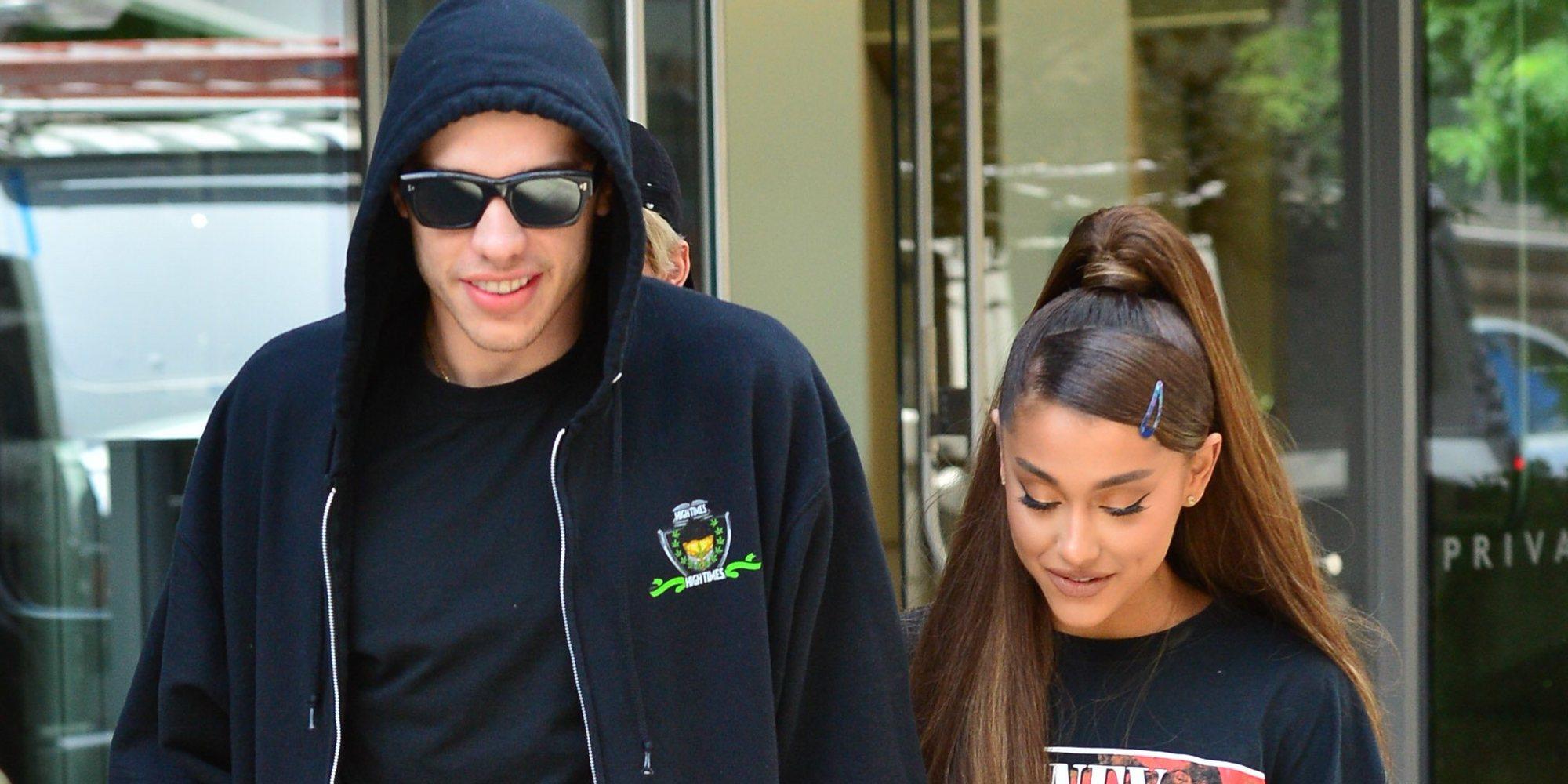 Ariana Grande y Pete Davidson han roto tras seis meses juntos y un compromiso por medio