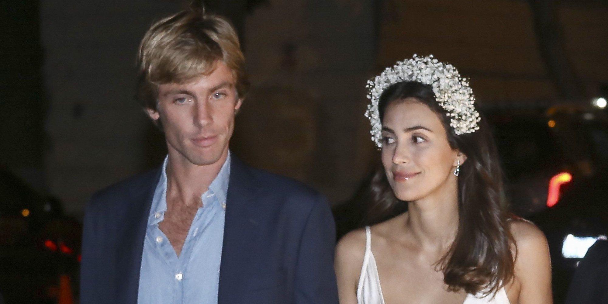 Christian de Hannover y Alessandra de Osma, de la boda de Eugenia de York al estreno de un musical en Madrid