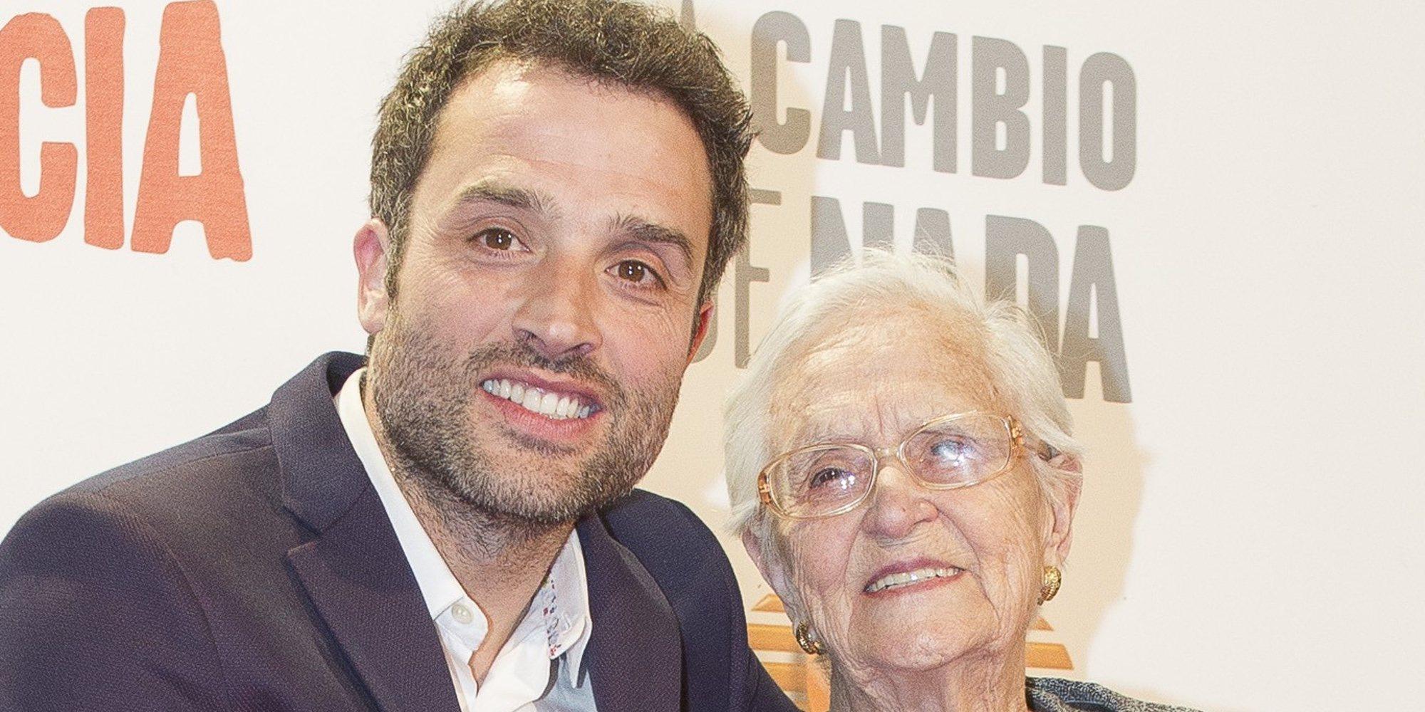Muere Antonia Guzmán, abuela de Daniel Guzmán y protagonista de 'A cambio de nada'