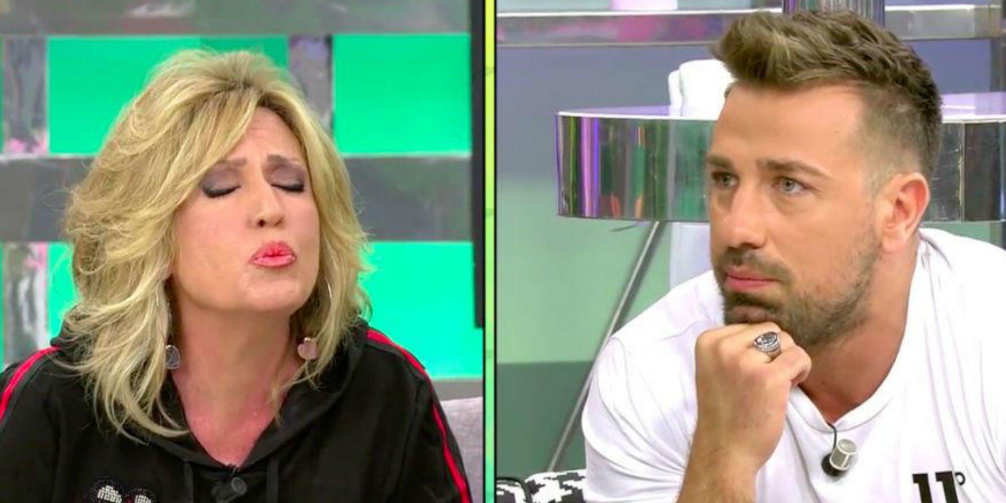 """Rafa Mora y su nueva pelea con Lydia Lozano tras imitarle: """"Yo te gusto, ¿verdad?"""""""