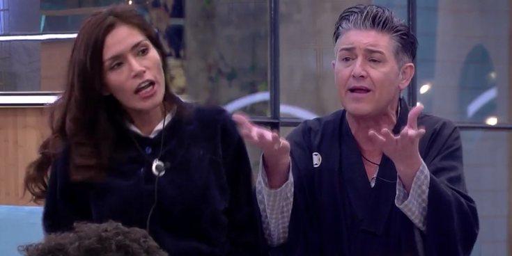 "Ángel Garó estalla contra Miriam Saavedra ('GHVIP6'): ""¡Vete a Perú, mamarracha!"""