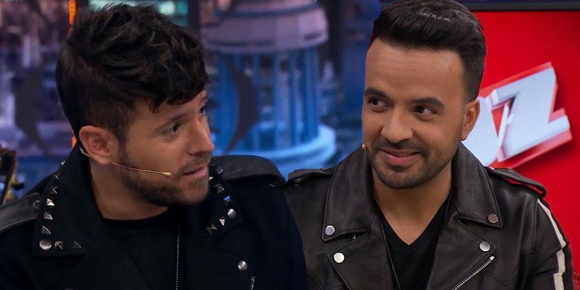 Pablo López lanza una pullita de lo más divertida a Luis Fonsi en 'El Hormiguero'