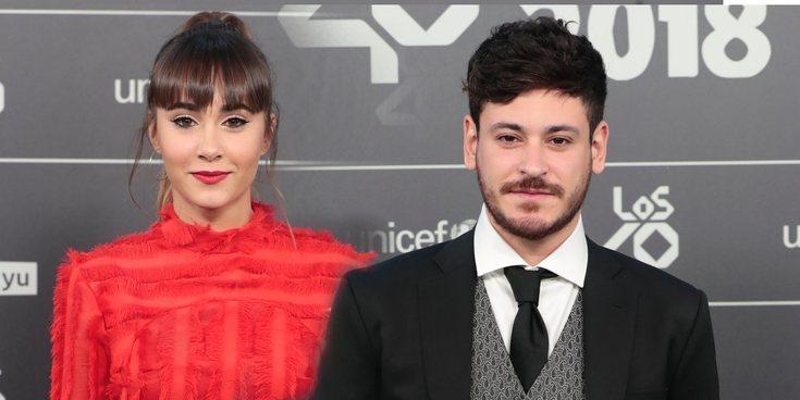 El reencuentro entre Aitana y Cepeda con Miguel Bernardeau presente en los 40 Music Awards 2018