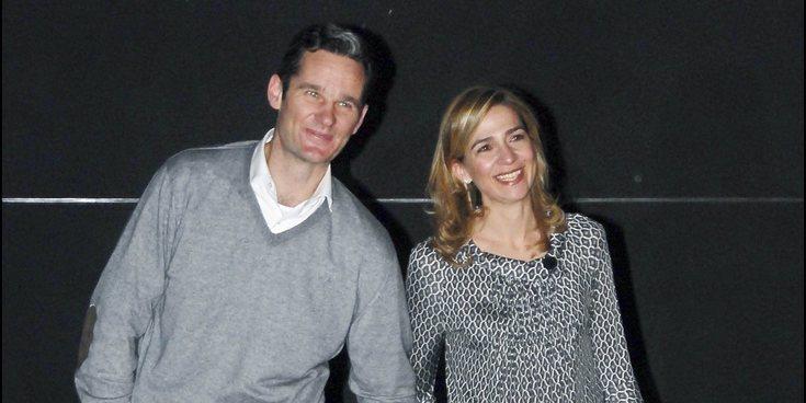 La Infanta Cristina desmiente su supuesto divorcio de Iñaki Urdangarin