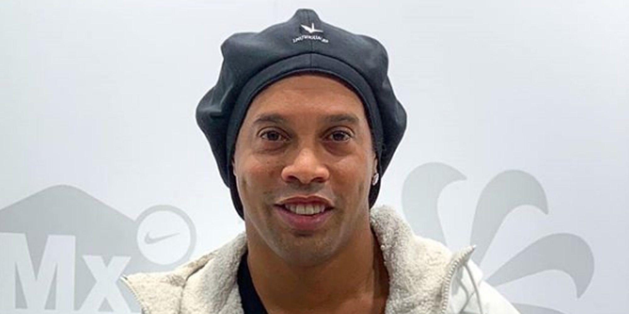 La mala situación de Ronaldinho: arruinado y sin pasaporte