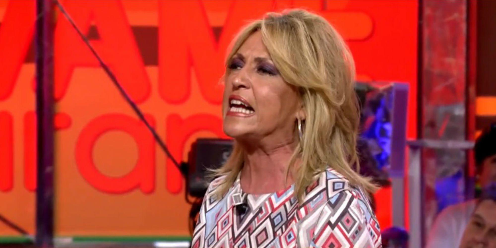 """El fuerte enfrentamiento entre Kiko Matamoros y Lydia Lozano: """"A mí no me han suspendido de empleo y sueldo"""""""