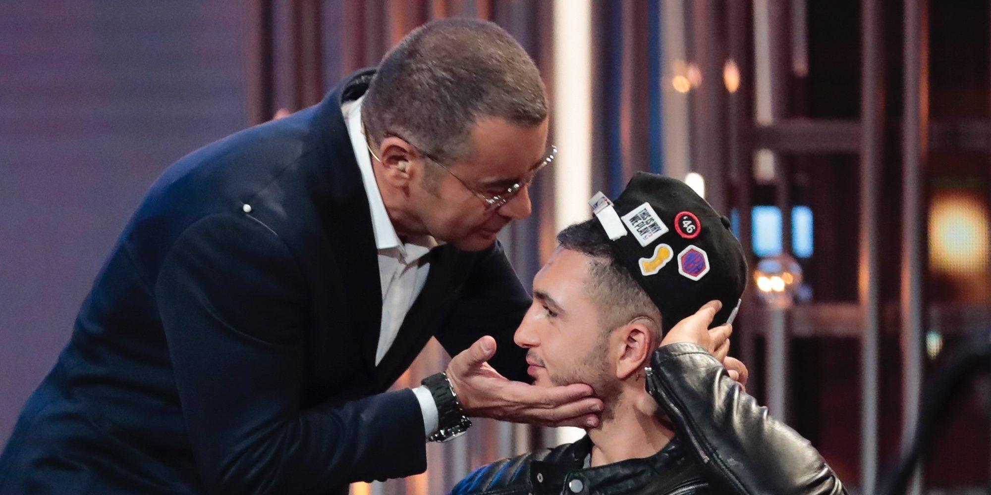 Jorge Javier Vázquez, el pañuelo de lágrimas de Omar Montes cuando ve peligrar el corazón de Chabelita Pantoja