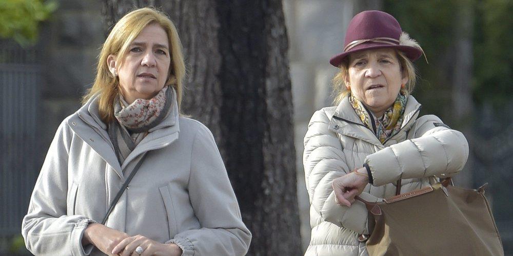La Infanta Elena cede a la Infanta Cristina el papel de acompañante del Rey Juan Carlos por Madrid Horse Week
