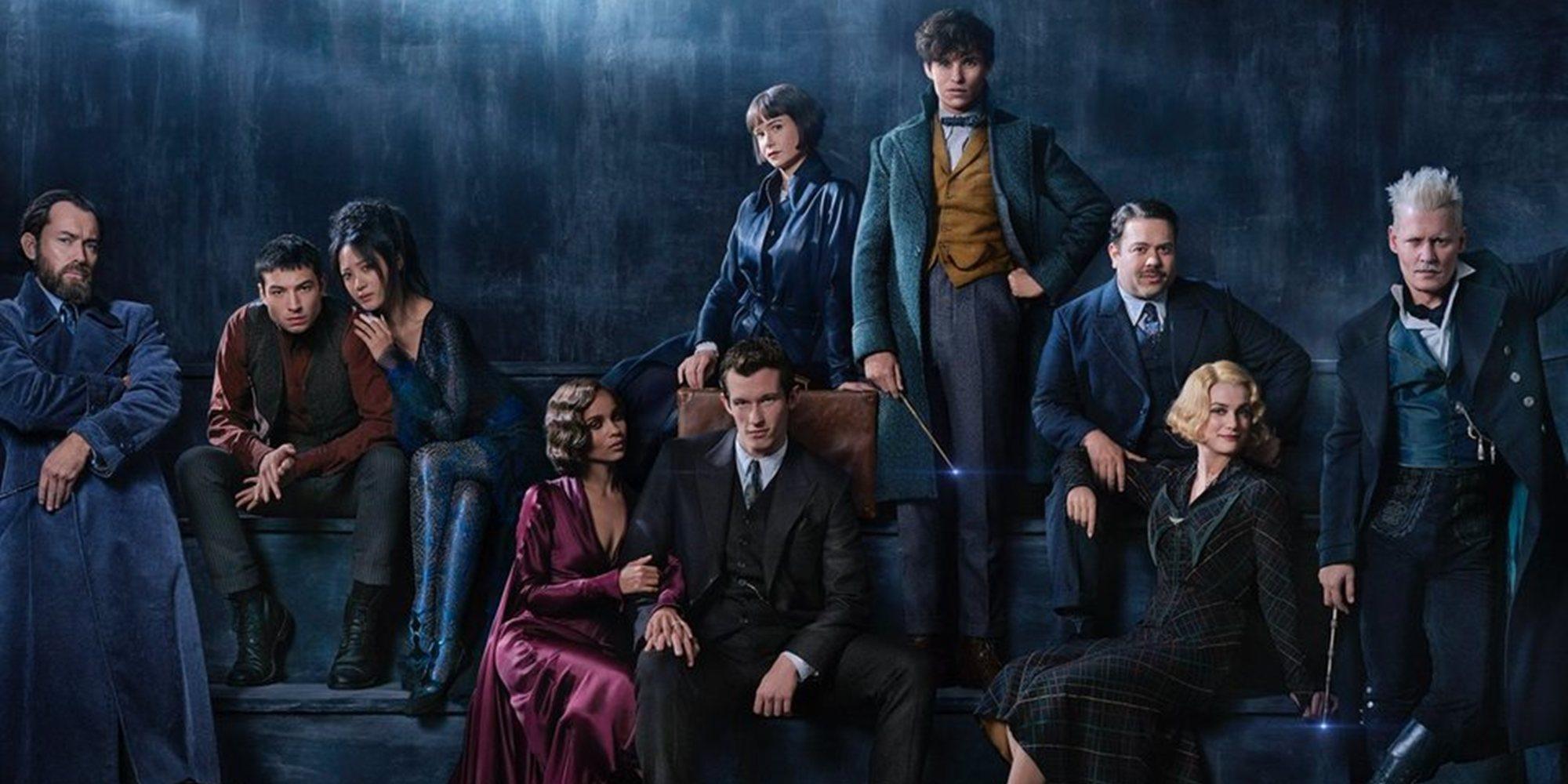 'Animales fantásticos: Los crímenes de Grindelwald' y 'El desentierro', las películas que no puedes perderte