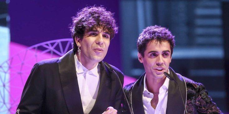 Los Javis, 'Operación Triunfo', Aura Garrido y Sandra Sabatés recogen sus Premios Ondas 2018