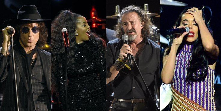 Maná, IZA, Beatriz Luengo, Pablo Alborán... así fueron los premios Persona del Año en los Grammy Latinos 2018
