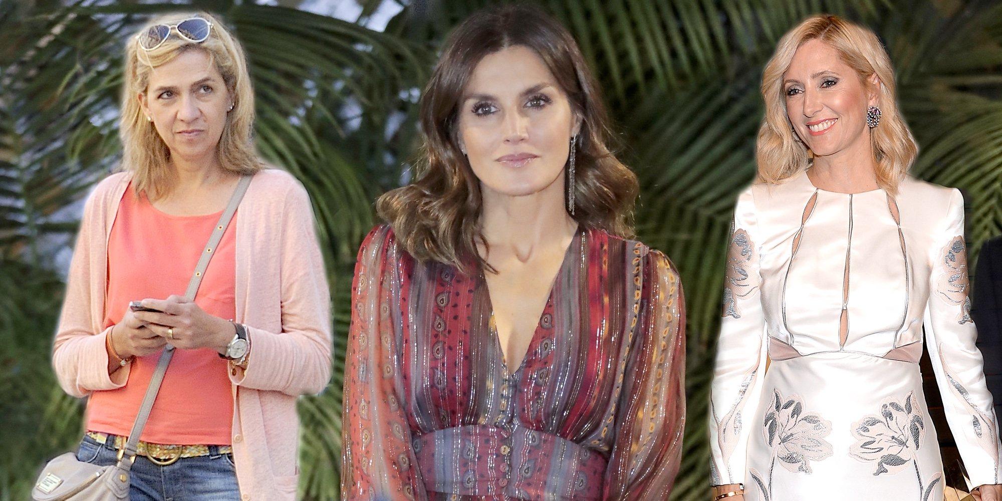 El cara a cara de la Reina Letizia con la Infanta Cristina y Marie Chantal de Grecia que difícilmente podrá evitar