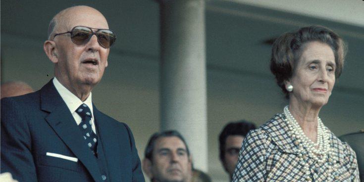 Así era Carmen Polo, la todopoderosa y excéntrica mujer del dictador Francisco Franco