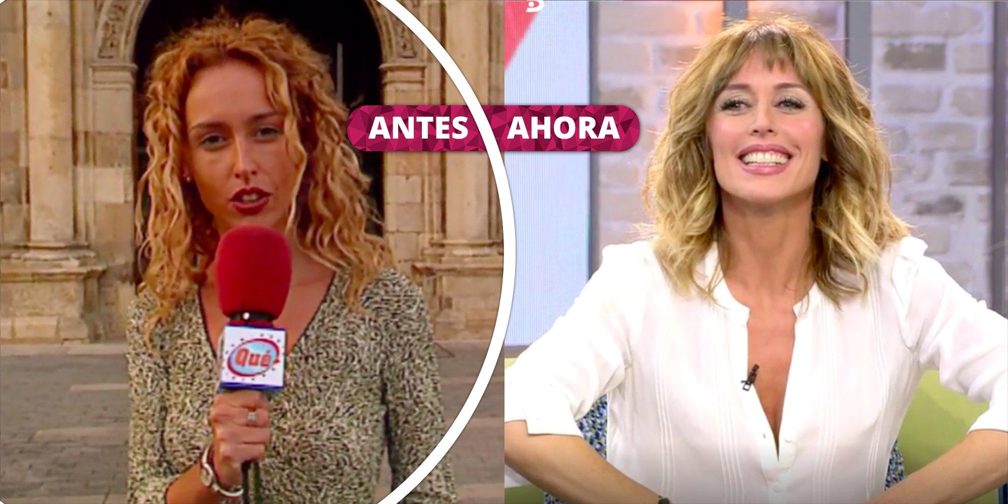 Así ha cambiado Emma García: De sus inicios como reportera a presentadora de 'A tu lado', 'MYHYV' y 'Viva la vida'