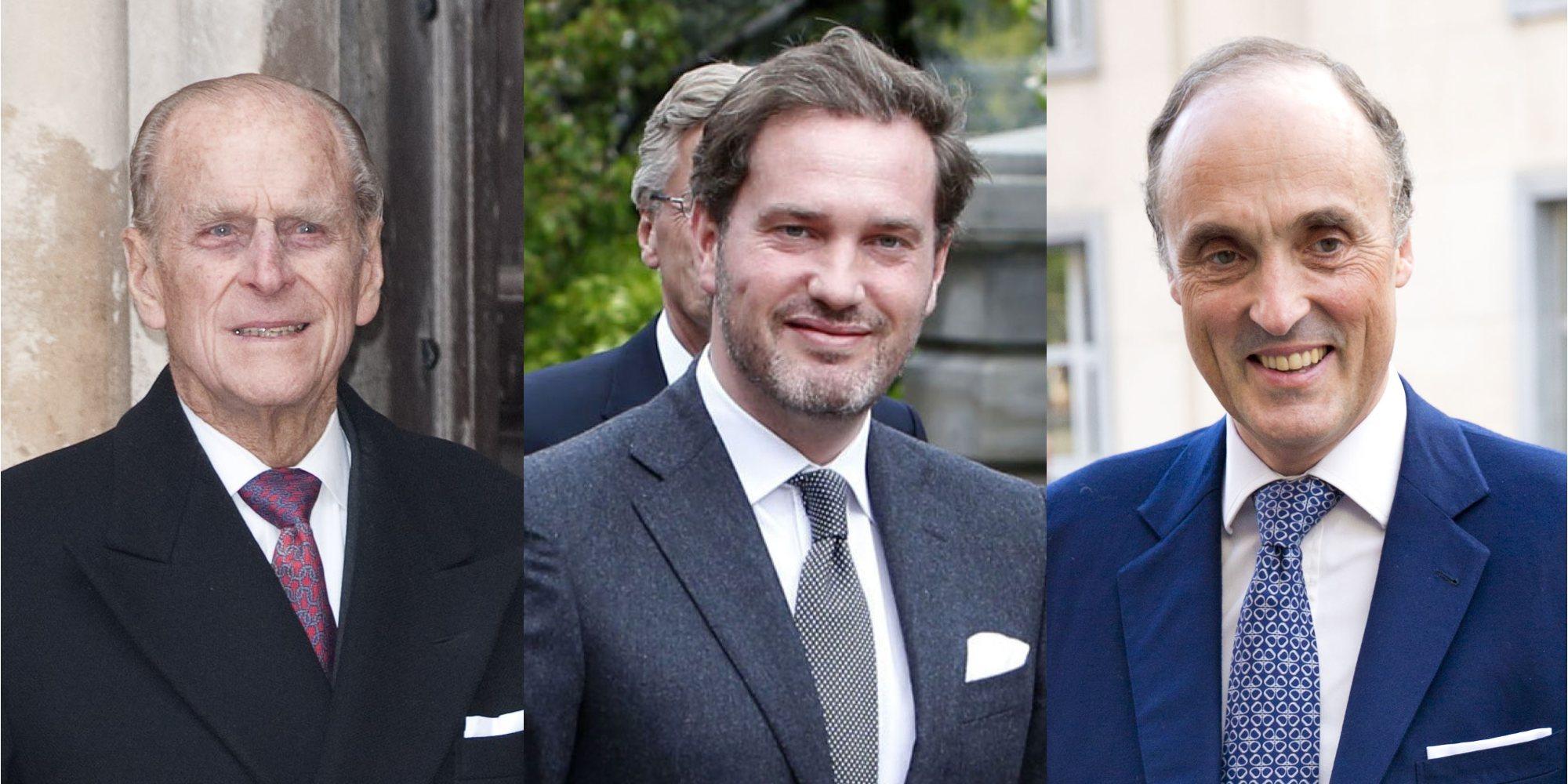 El Duque de Edimburgo, Chris O'Neill, el Príncipe Lorenzo de Bélgica y otros royals extranjeros