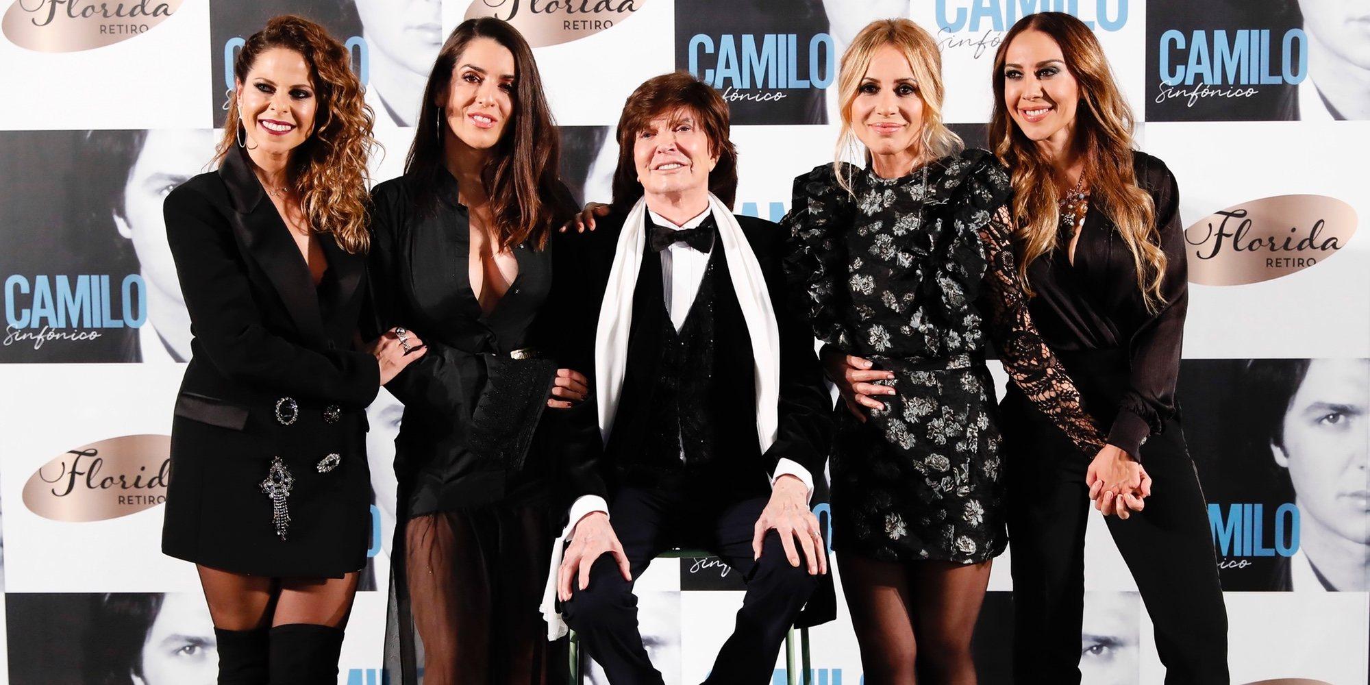 Ruth Lorenzo y Pastora Soler acompañan a Camilo Sesto en la presentación de su nuevo disco