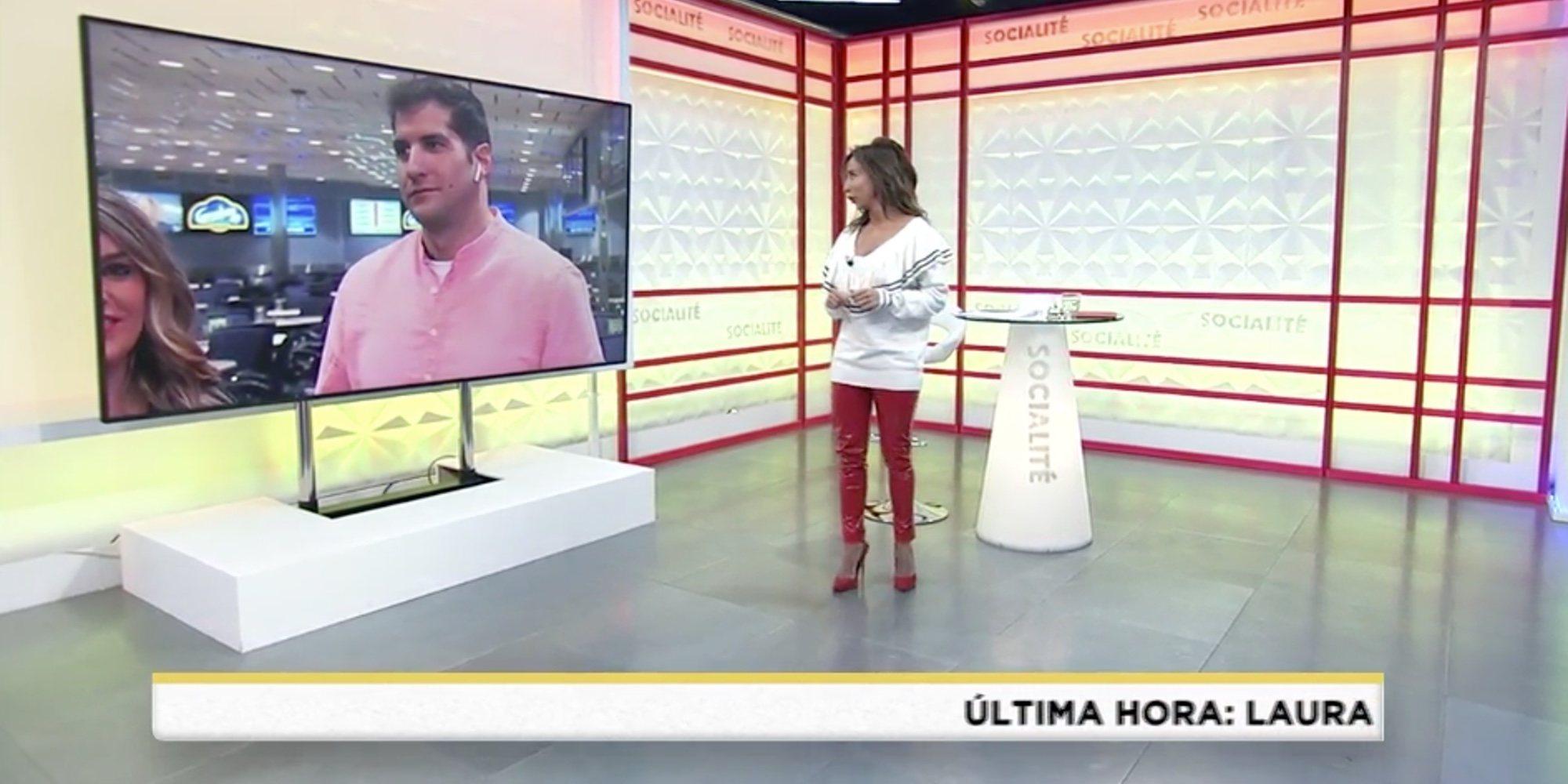 El rifirrafe de Julián Contreras Jr con María Patiño en 'Socialité'