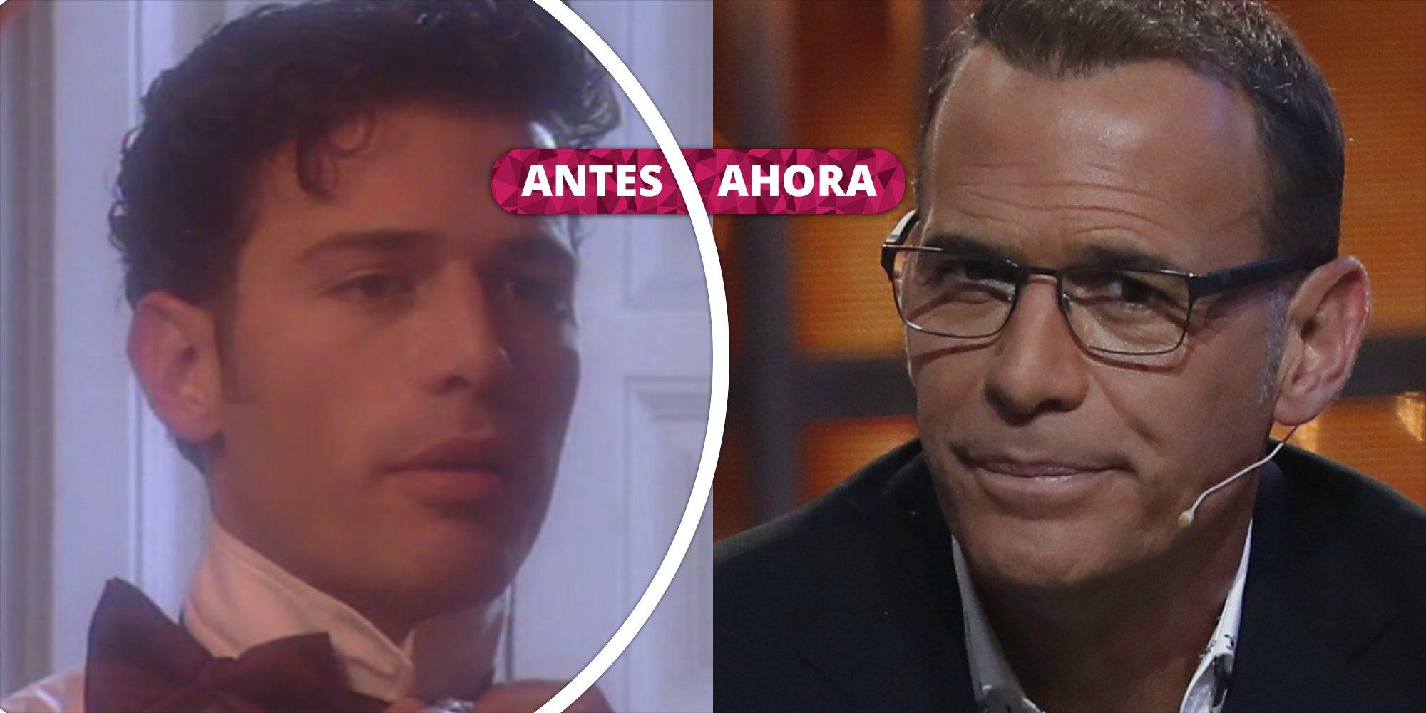 Así ha cambiado Carlos Lozano: De sus inicios como modelo, actor y presentador a su renacer tras 'GH VIP 4'