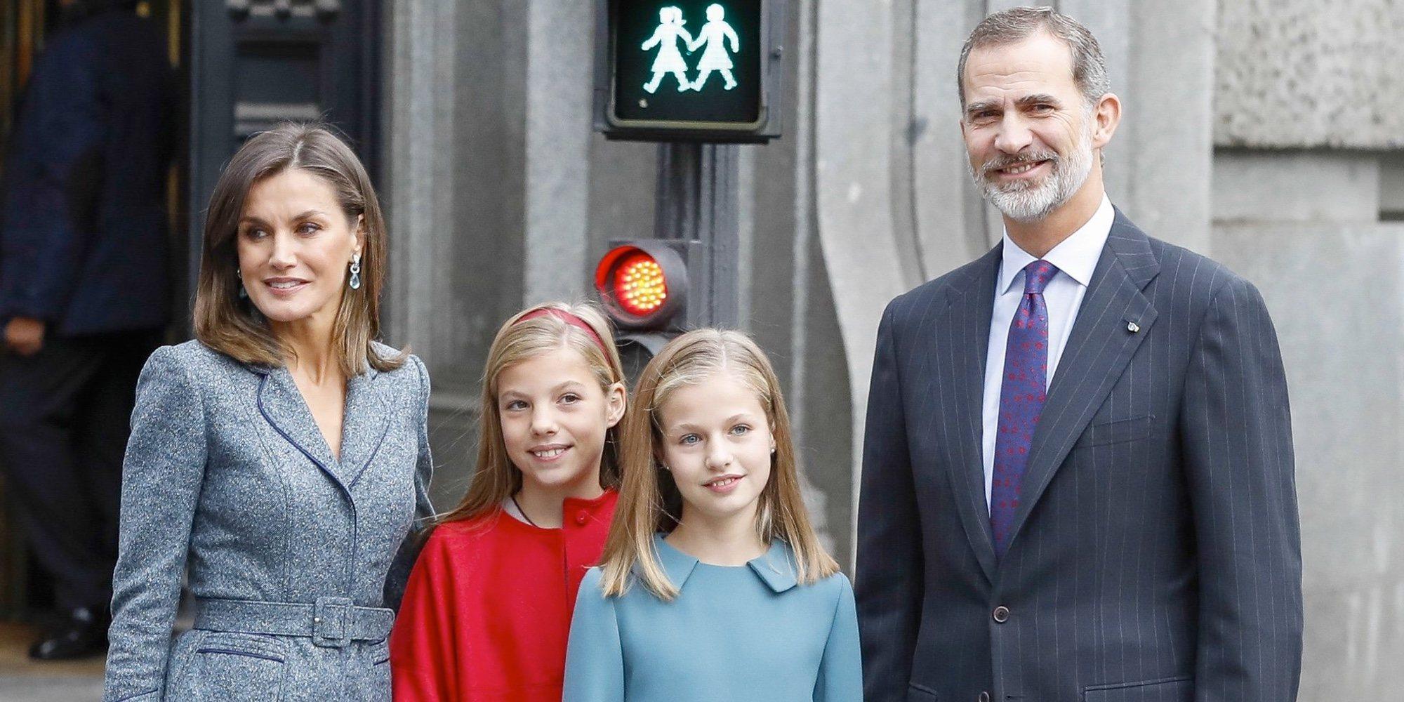 El plan de los Reyes Felipe y Letizia, la Princesa Leonor y la Infanta Sofía: cine español y sin privilegios