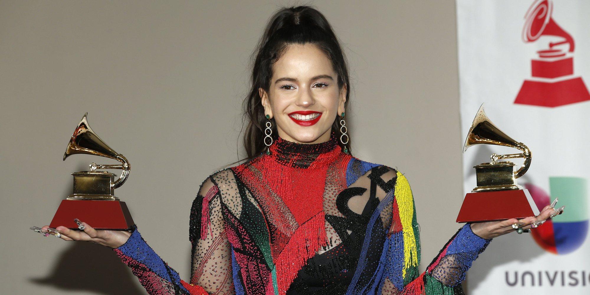 """Rosalía regresa a España preocupada por el paradero de sus premios Grammy: """"A ver si llegan"""""""