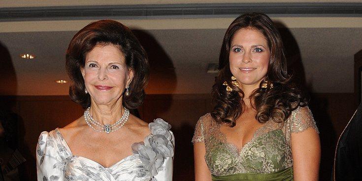 Silvia de Suecia aprovecha su viaje a Estados Unidos para visitar a Magdalena de Suecia y sus tres hijos