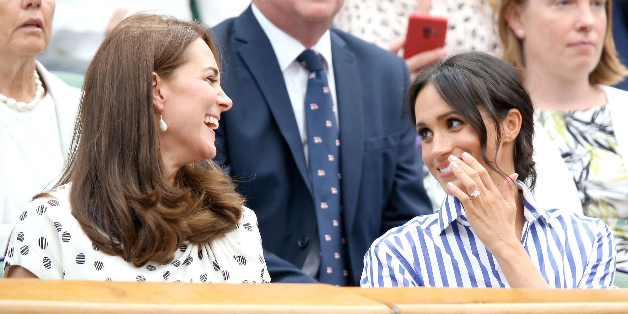 Kate Middleton, emocionada por el bebé que esperan el Príncipe Harry y Meghan Markle