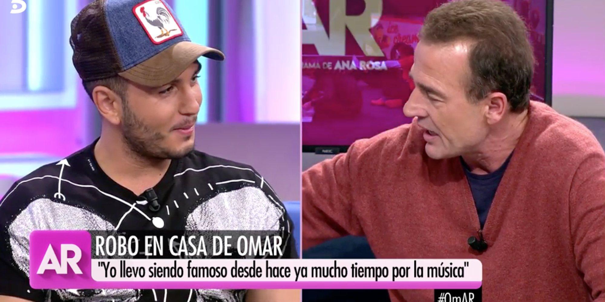 """El zasca de Omar Montes a Alessandro Lequio: """"Yo soy famoso por Chabelita y tú por Ana Obregón"""""""