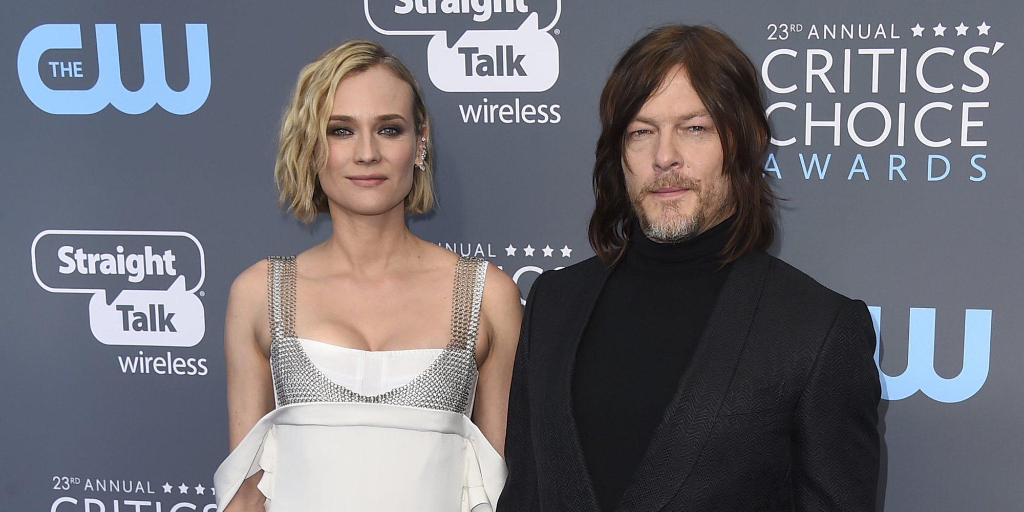 Diane Kruger y Norman Reedus confirman que ya son papás con un paseo familiar por Nueva York