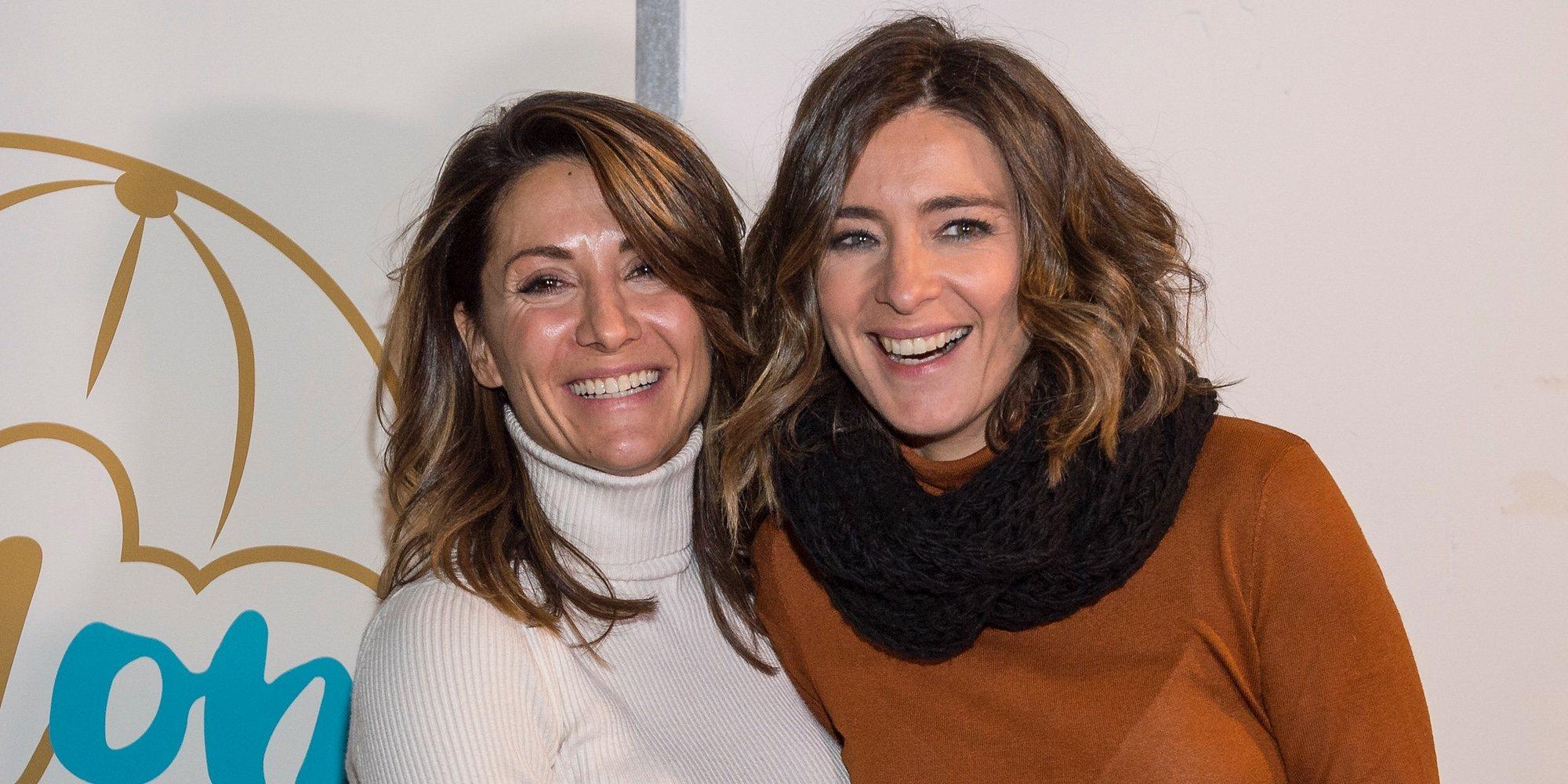 Sandra Barneda apoya muy orgullosa a Nagore Robles en su mercadillo solidario
