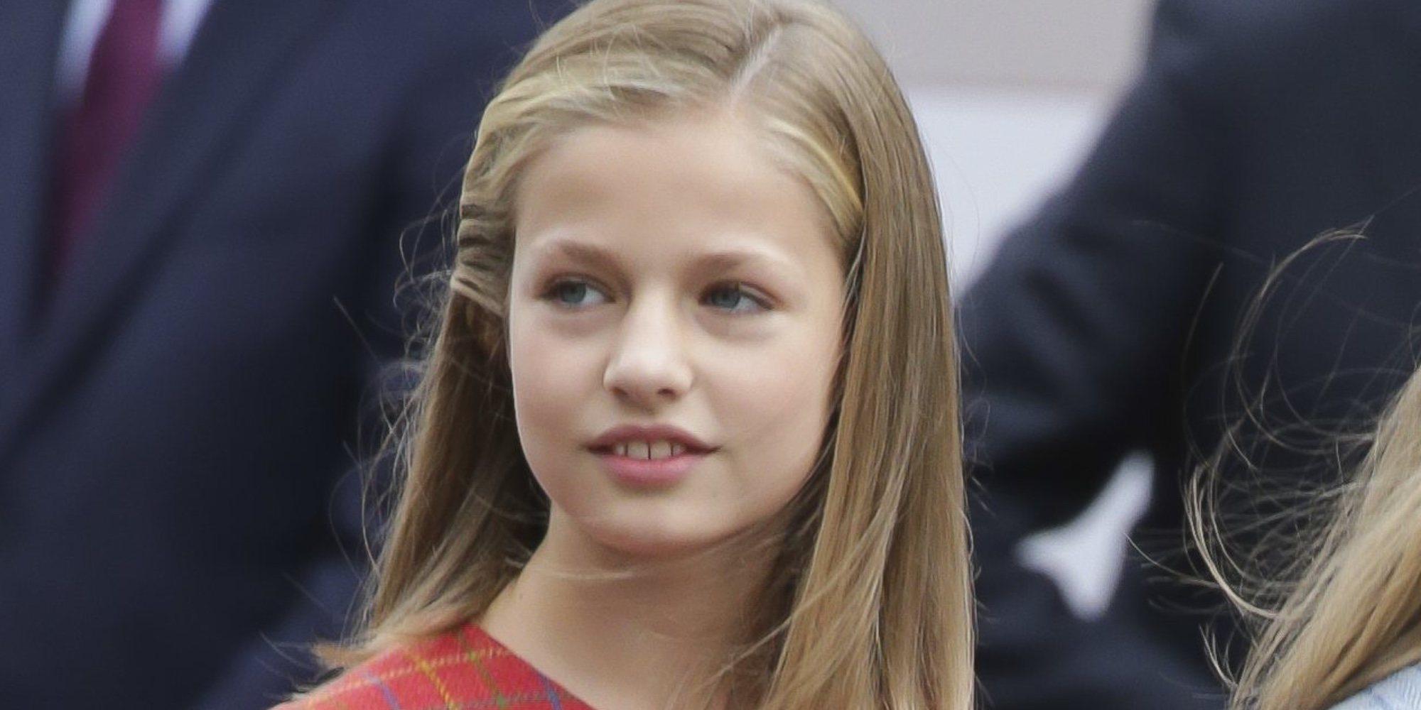 La Princesa Leonor formará parte de la celebración oficial del 40 aniversario de la Constitución Española
