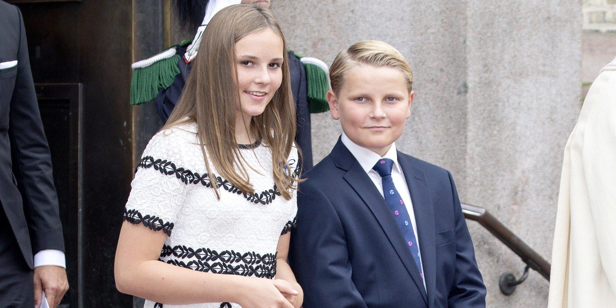 El gran detalle que deja el 13 cumpleaños de Sverre Magnus de Noruega