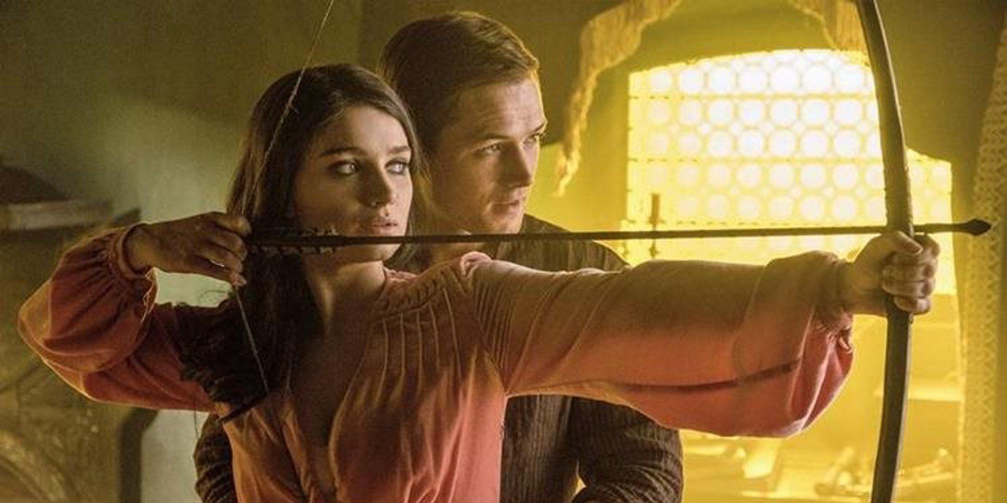 Eve Hewson habla en exclusiva sobre el rodaje de 'Robin Hood: el origen de la leyenda'