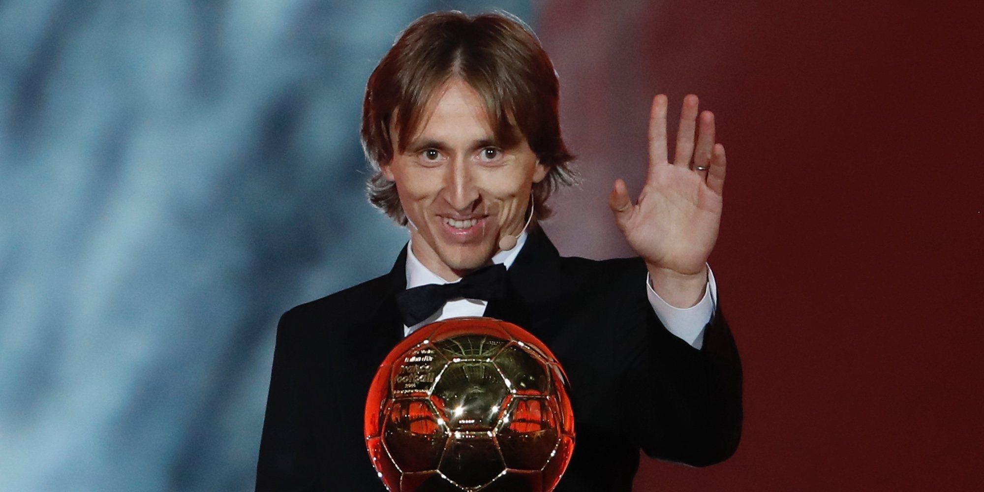 Luka Modric les dedica su Balón de Oro 2018 a Andrés Iniesta y Xavi Hernández