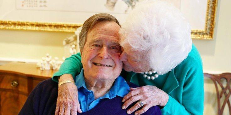 """Barbara Bush sobre la muerte de su abuelo George H. W Bush: """"Estaba listo para estar con mi abuela otra vez"""""""