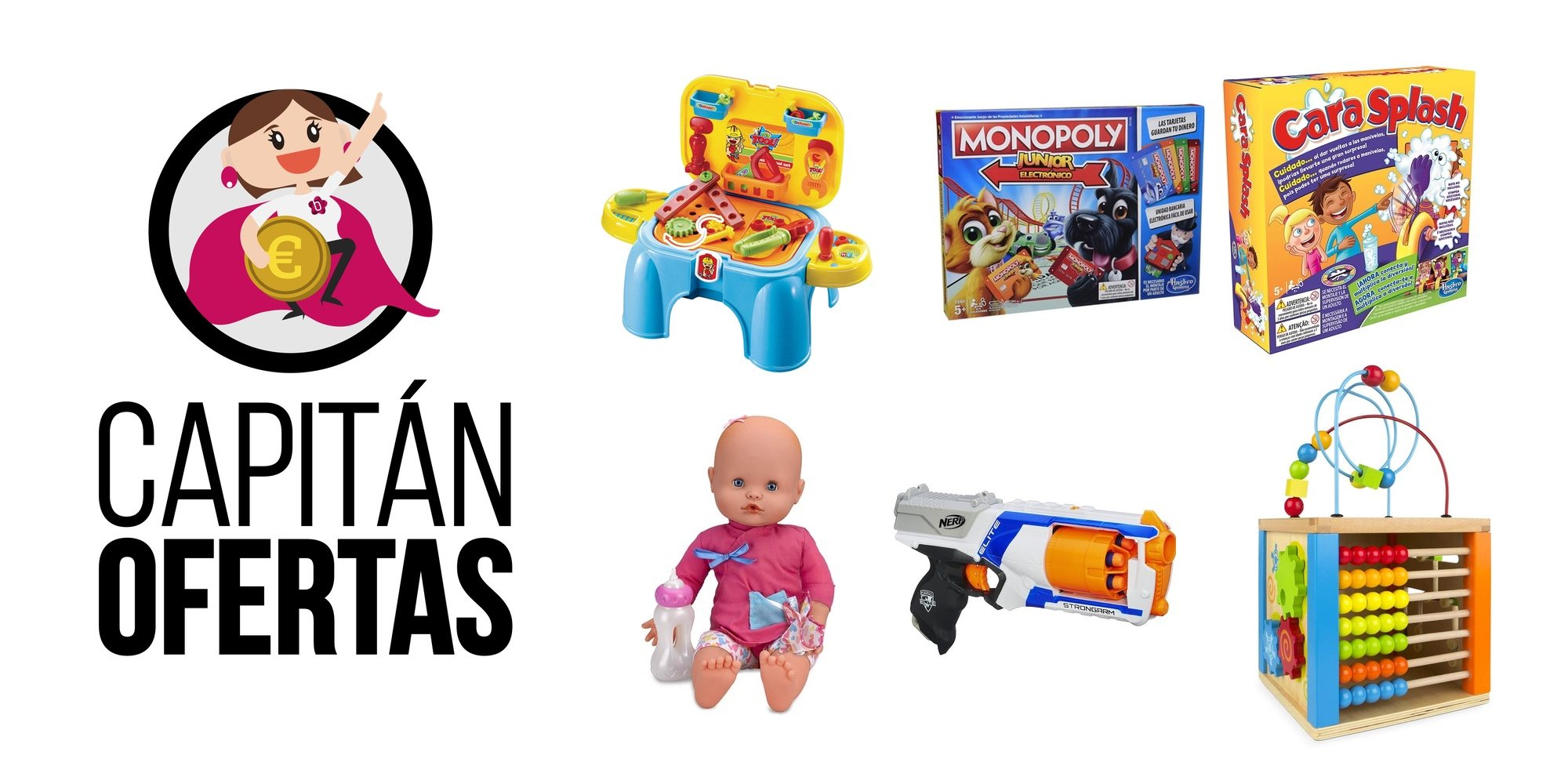 Capitán ofertas trae los mejores productos para la búsqueda de regalos de los peques de la casa