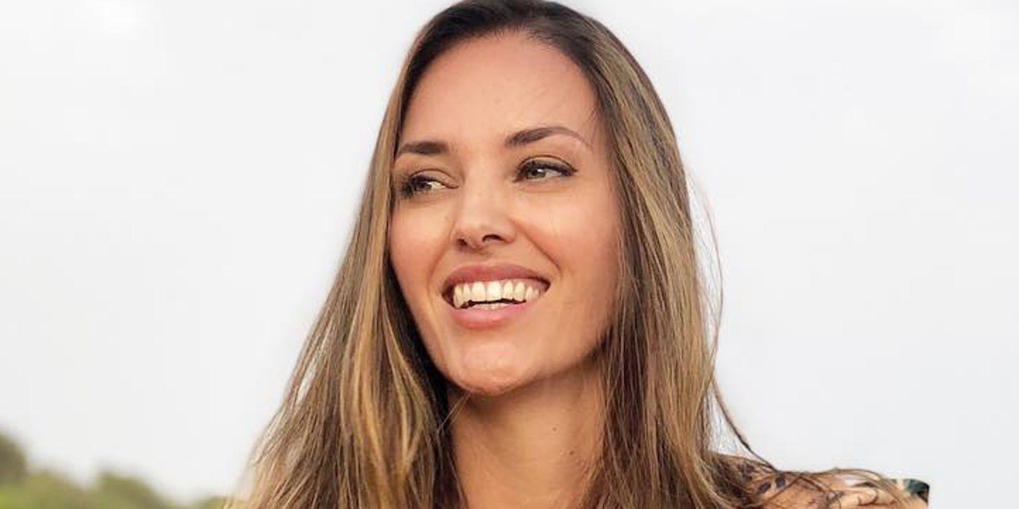 Helen Lindes presume de su segundo embarazo con una sonrisa de oreja a oreja