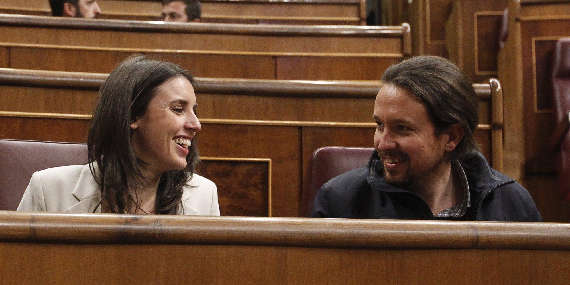 Pablo Iglesias e Irene Montero: serios, exigentes y poco simpáticos en Galapagar