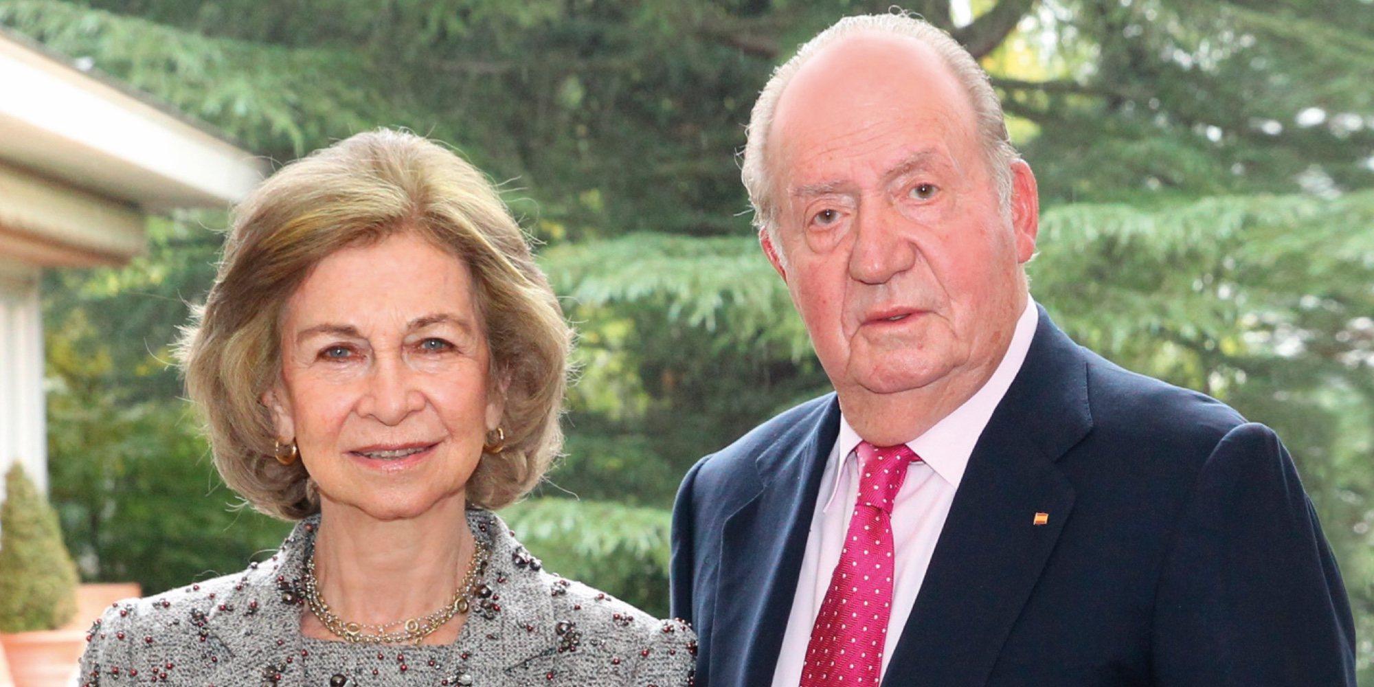 Los Reyes Juan Carlos y Sofía hacen oficial su reconciliación en su felicitación de Navidad 2018