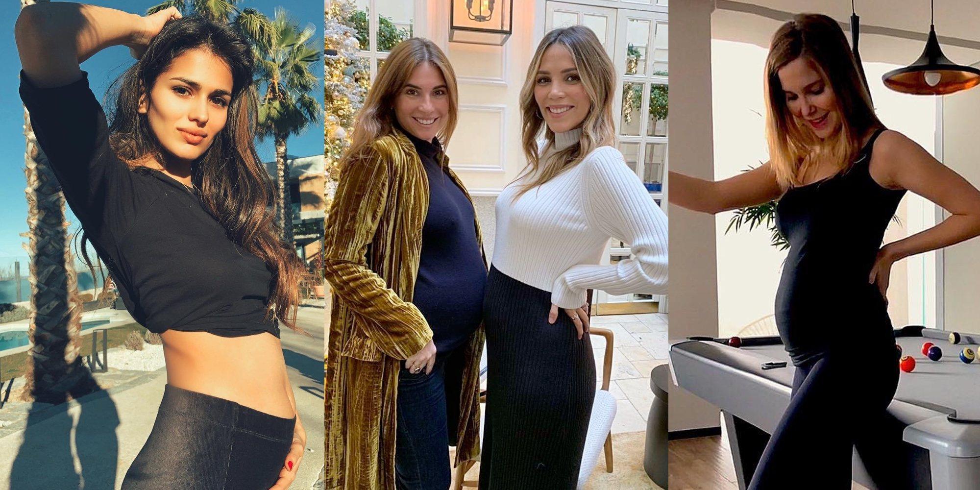 Natalia Sánchez, Sara Sálamo, Rosanna Zanetti o Isabel Jiménez se estrenarán como madres en 2019