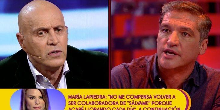 """Kiko Matamoros a Gustavo González: """"Eres tonto, aparte de un delincuente"""""""