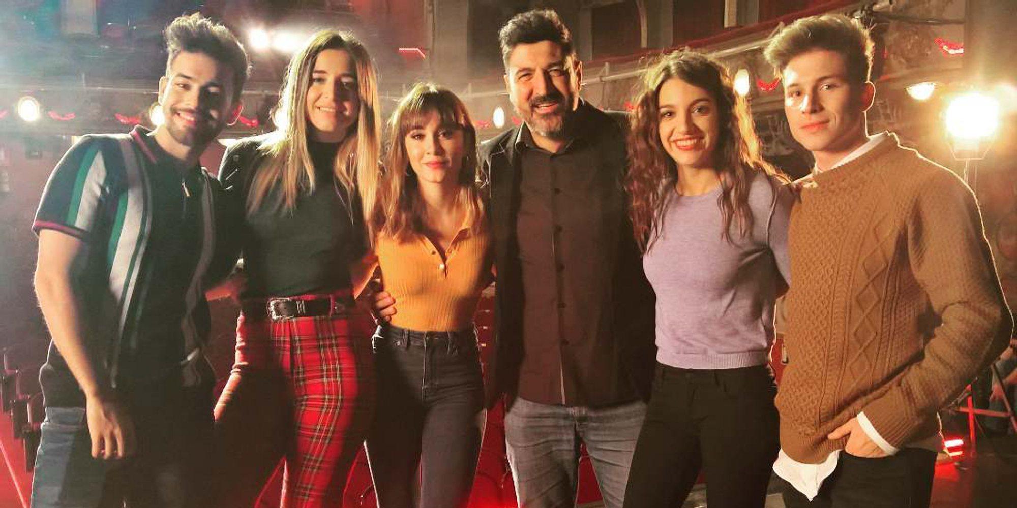 'El mundo entero': Aitana, Ana Guerra, Agoney, Mimi y Raoul estrenan canción juntos