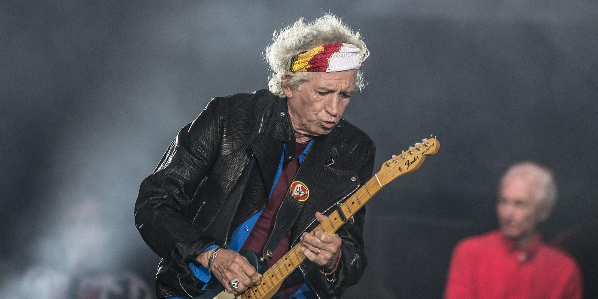 Keith Richards, componente de los Rollings Stone, deja la bebida