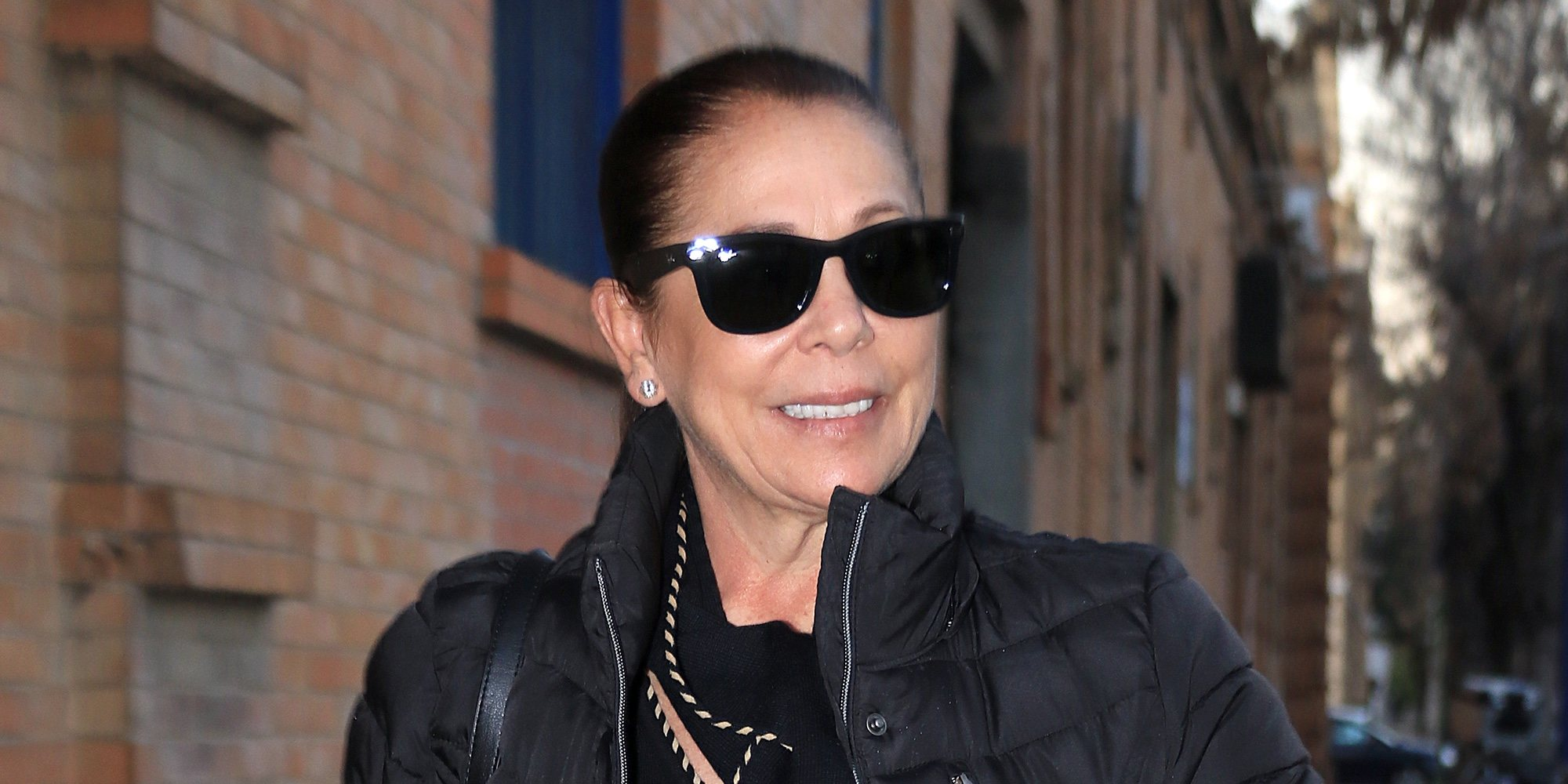 Isabel Pantoja, una abuela orgullosa en el tercer cumpleaños de su nieta Ana Rivera Rosales