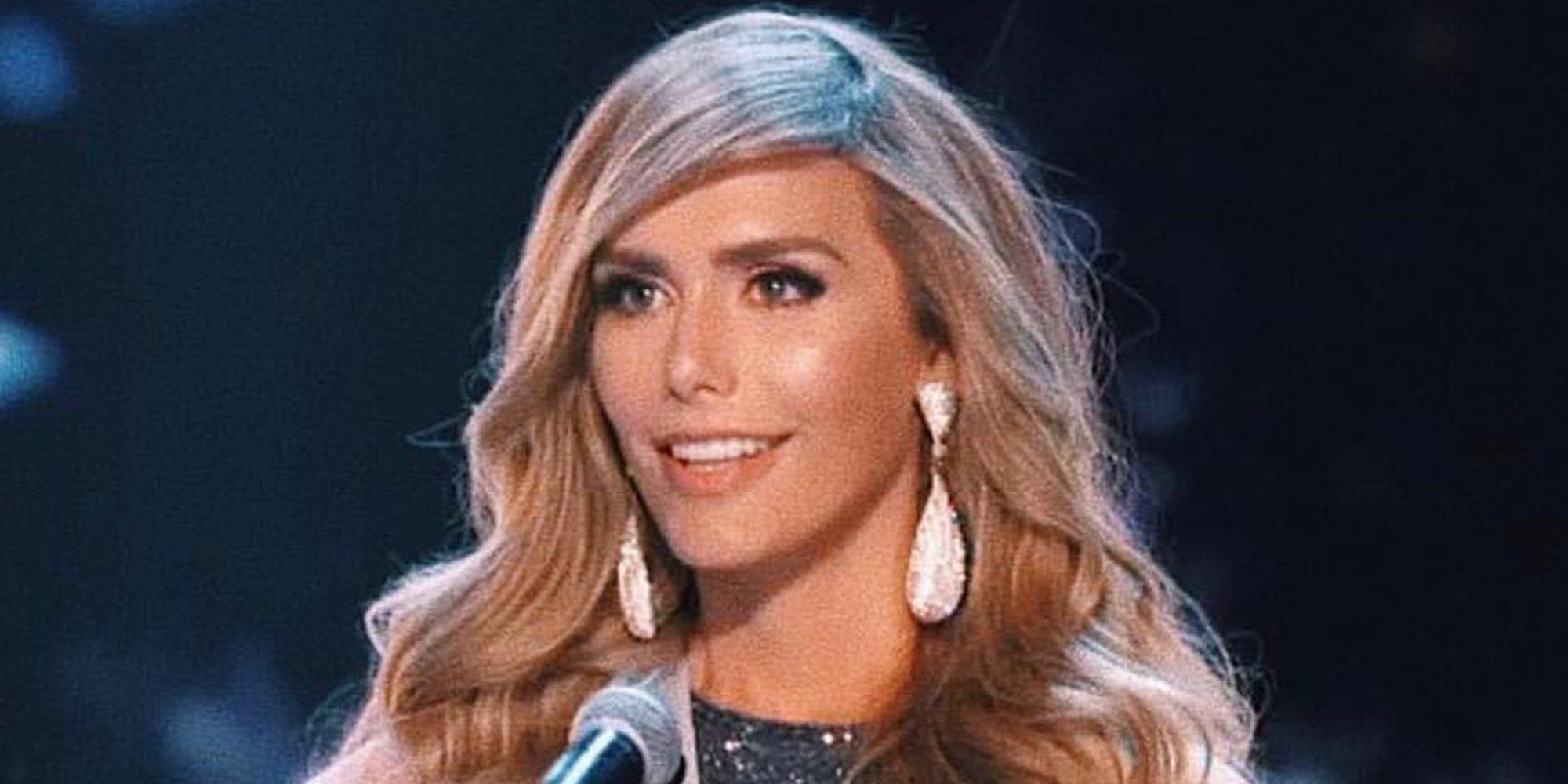 Ángela Ponce, muy ovacionada por haber sido la primera transexual en llegar a Miss Universo
