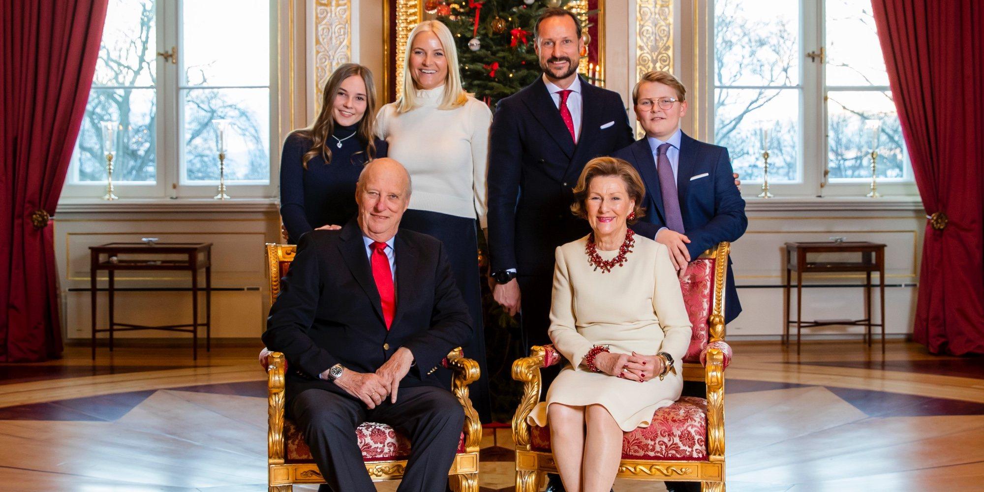 La felicitación navideña de la Familia Real Noruega que deja claro lo bien que se llevan