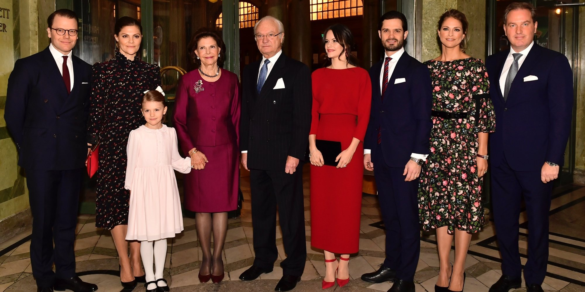 Magdalena de Suecia y Chris O'Neill se unen al resto de la Familia Real Sueca por el cumpleaños de Silvia de Suecia