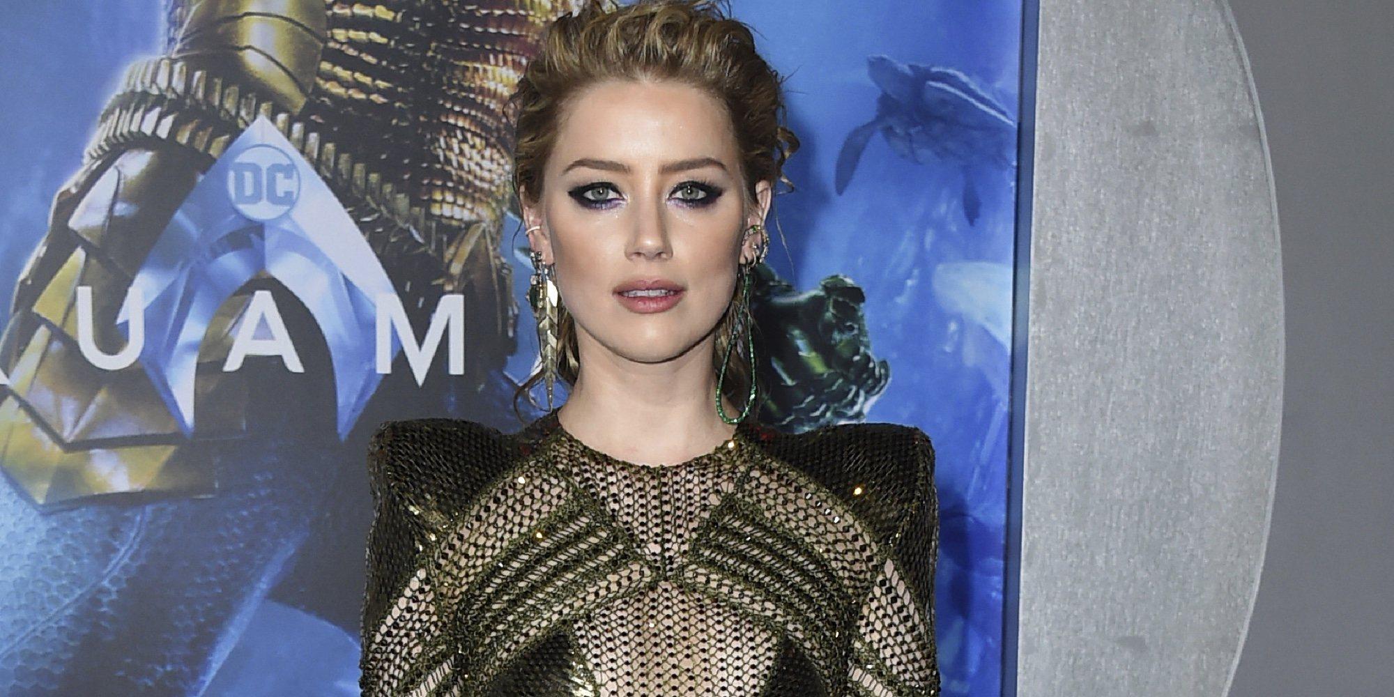 """Amber Heard cuenta por lo que pasó tras separarse de Johnny Depp: """"Recibí amenazas de muerte"""""""